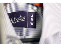 Woodies shirt initial
