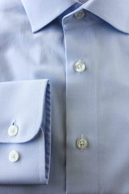 Blue dress cuff