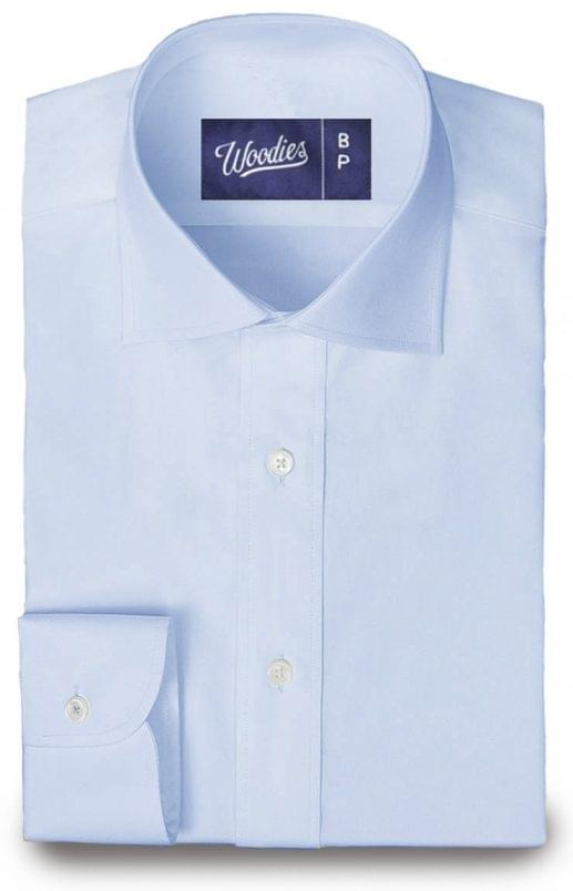 Light Blue Non-Iron Royal Oxford Shirt