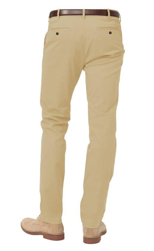 Classic Khaki Stretch Chinos