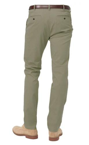 classic olive stretch chino