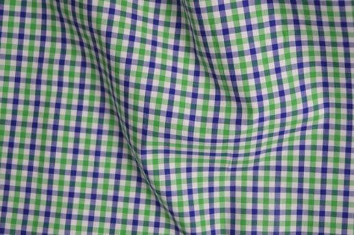 Green and Blue Gingham Shirt