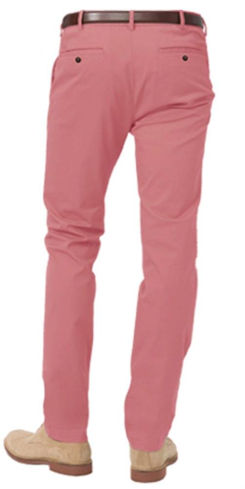 Summer Red Stretch Chinos