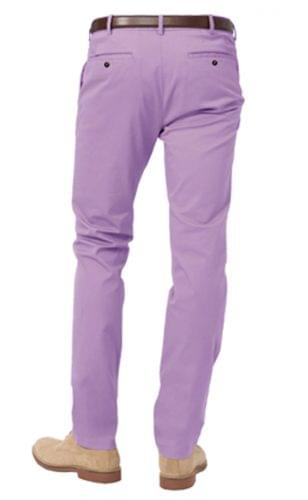 washed purple stretch chino