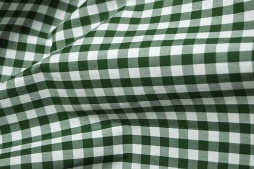 Dark Green Gingham Shirt