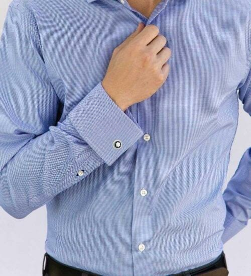 The French Cuff Custom Dress Shirts And Chinos By Woodies
