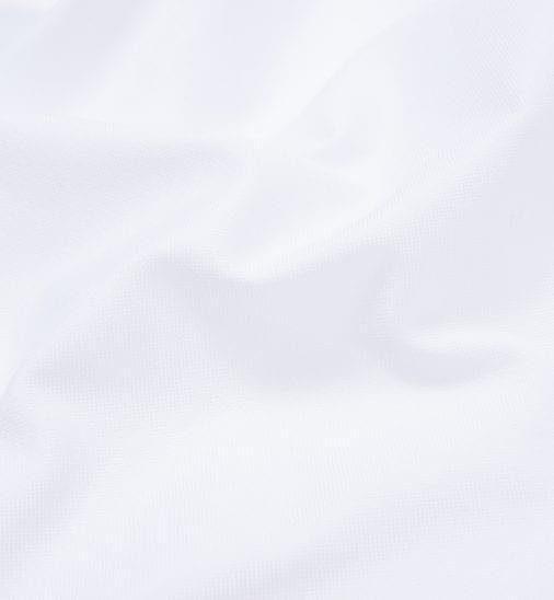 White Oxford Shirt Fabric