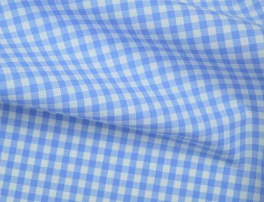 Light Blue Medium Gingham Shirt