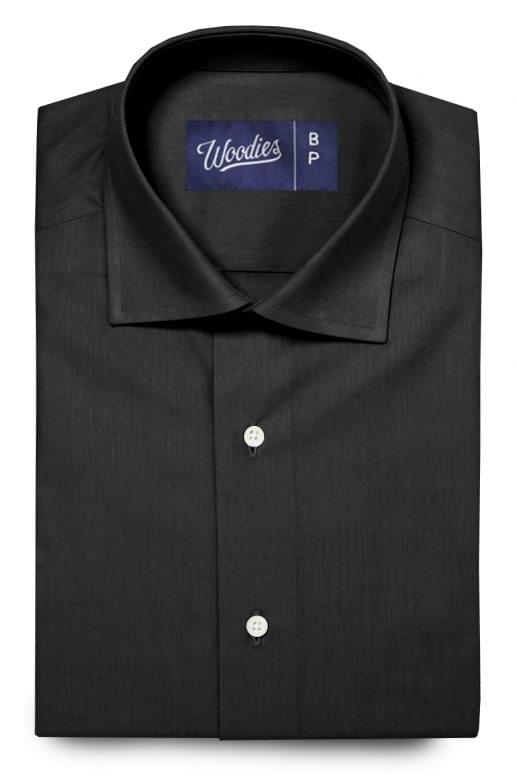 Black Performance Dress Shirt