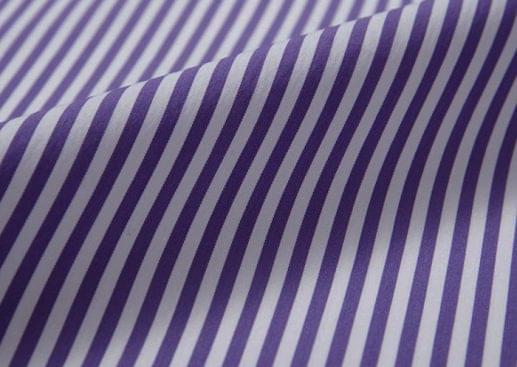 Dark Purple Bengal Striped Shirt