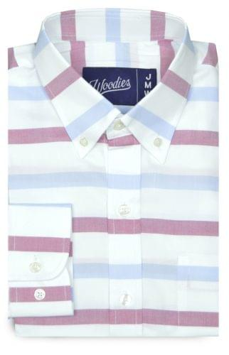 Blue and Pink horizontal stripe