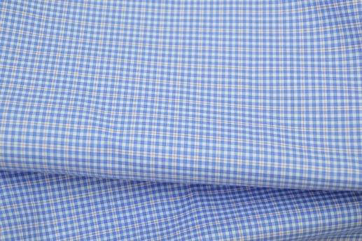 Blue and Red Easy Care Plaid Shirt