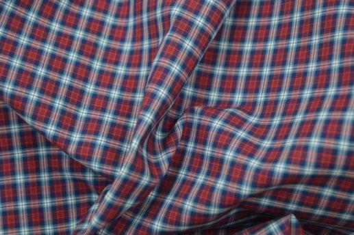 Red, Green and Blue Easy Care Plaid Shirt