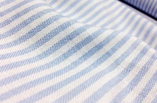 Light Blue Oxford Stripe