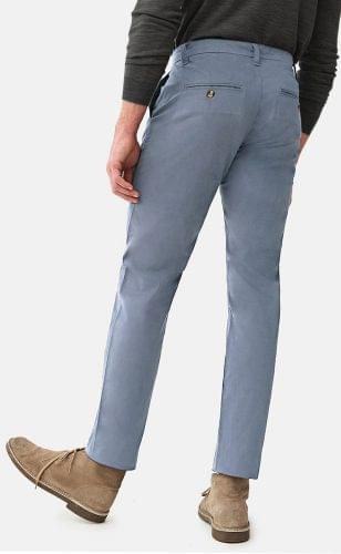 Cadet Blue Stretch Washed Chinos