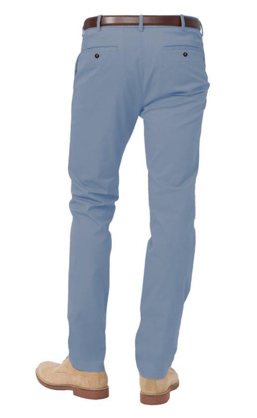 Cadet Blue Stretch Chinos