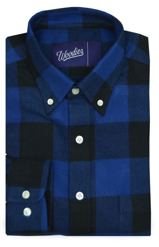 Blue Buffalo Check Flannel Shirt