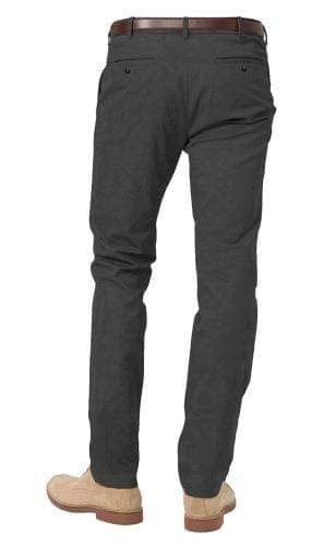 classic grey stretch chino