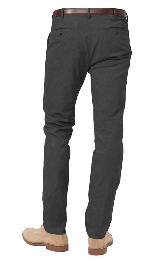Grey Stretch Chinos