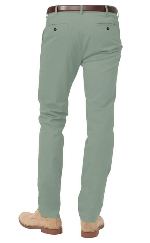 Light Olive Stretch Chinos
