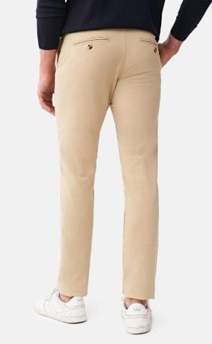 Khaki Performance Stretch Chinos