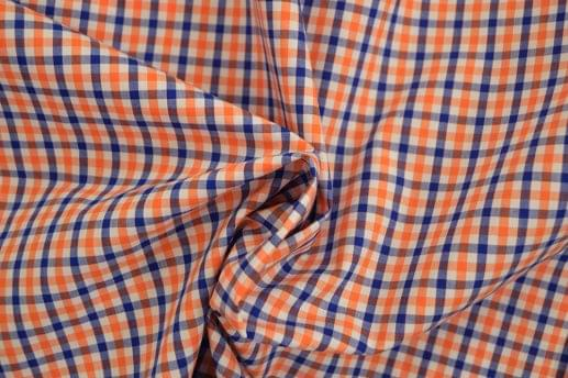 Orange & Blue Syracuse Gingham Shirt