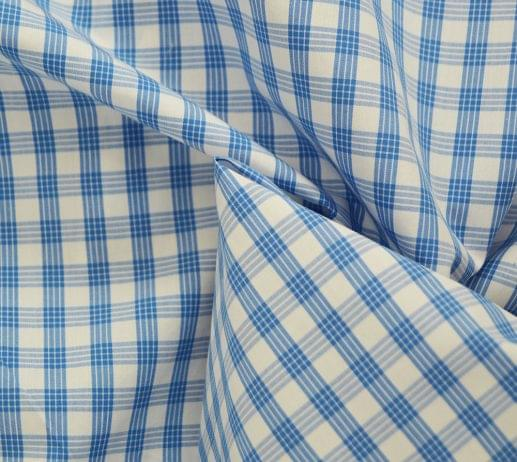 Light Blue Tattersall Dress Shirt