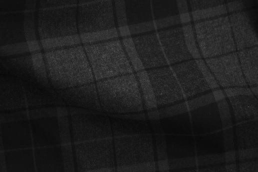 Black and Grey Plaid Flannel