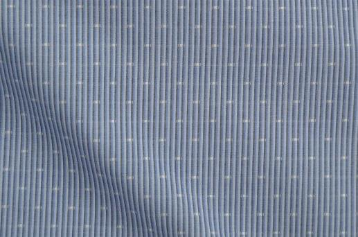 Multi Blue Patterned Stripe Shirt