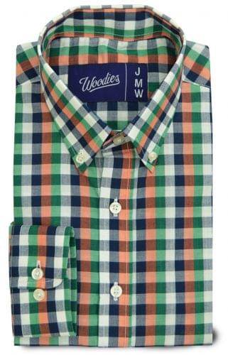 Mutli Color Gingham Custom Shirt