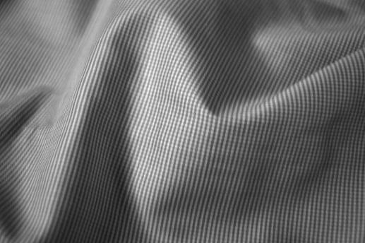 Black Mini Check Shirt