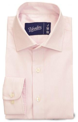 Light Pink Double Stripe Wrinkle Resistant Shirt