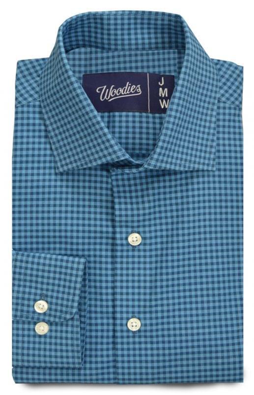 Multi Blue Small Gingham Shirt
