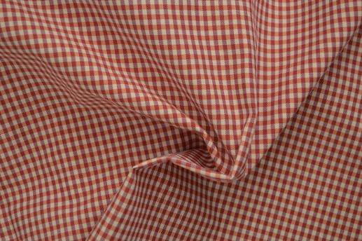 Red & Orange Small Gingham Shirt