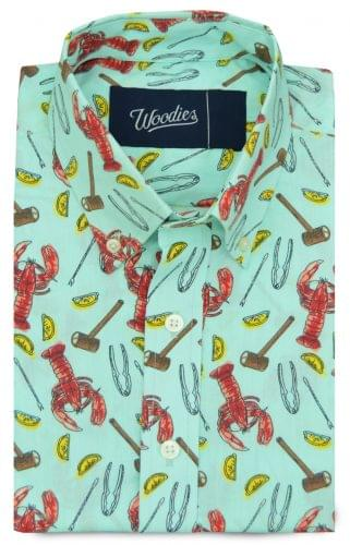 Lobster Feast Printed Shirt