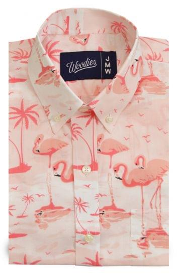 Flamingo Printed Shirt