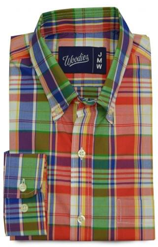 Classic Red Green and Blue Madras