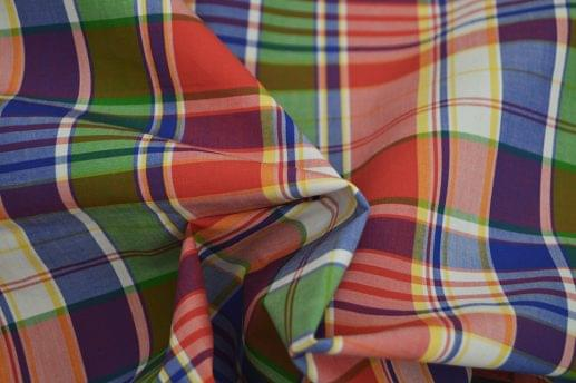Classic Multi Colored Madras