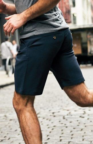 Performance Navy Shorts