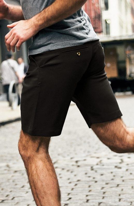 Premium Performance Olive Taupe Stretch Short