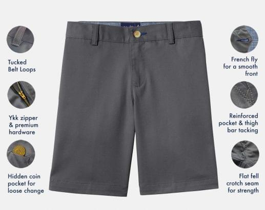 Premium Performance Navy Stretch Short