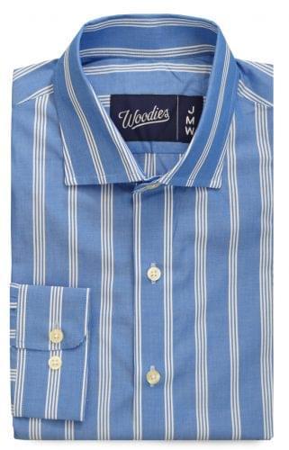 Amalfi Blue Multi Striped Shirt