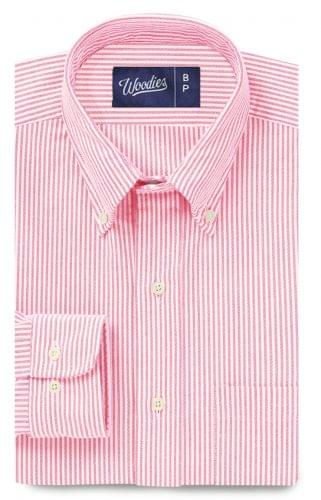Pink Oxford Stripe Shirt