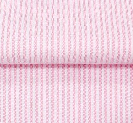 Pink Oxford Stripe