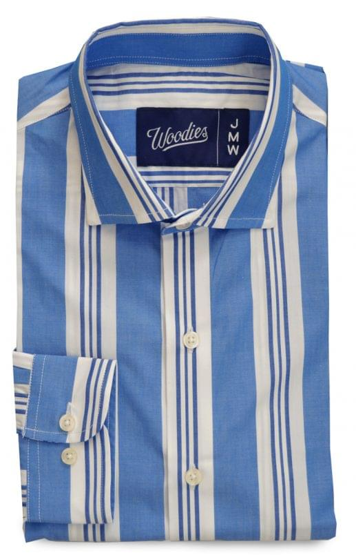 Blue Vintage Striped Shirt