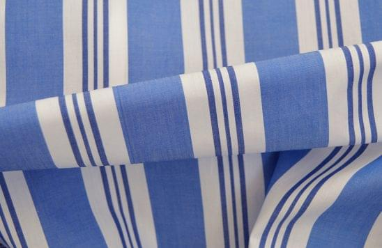 Wide Multi Stripe Shirt Fabric