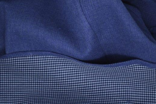 Double Sided Blue Flannel