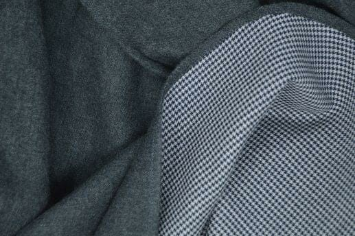 Dark Grey Double Sided Flannel