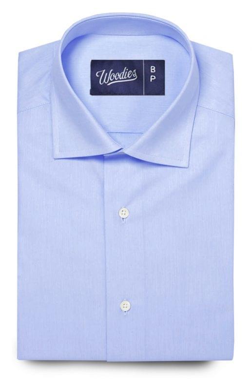 Light Blue Performance Dress Shirt