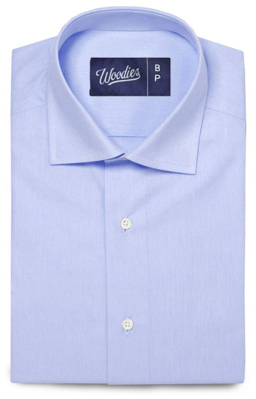 Light Blue Stain Repelling Performance Shirt